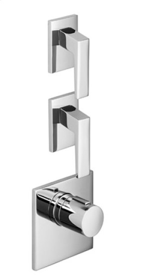 xTOOL thermostat with two volume controls - chrome Product Image