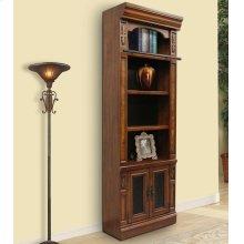 Leonardo 32 in. Open Top Bookcase