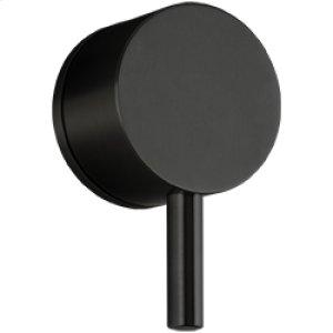 Volume Control RND + LEVER + EQUAL PLATE - Black Product Image