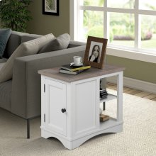 Americana Modern Cotton Chairside Table