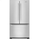 "69"" Counter-Depth, French Door Refrigerator with Internal Water/Ice Dispensers, Euro-Style Stainless Handle Product Image"