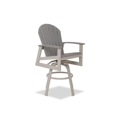 Newport Bar Height Swivel Arm Chair