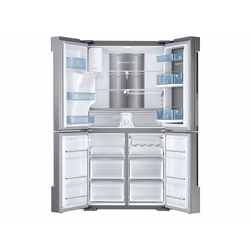 28 cu. ft. Food Showcase 4-Door Flex Refrigerator with FlexZone in Stainless Steel