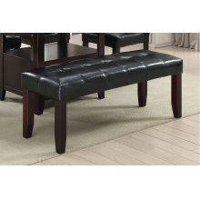 F1751 / Cat.19.p75- DINING BENCH BLK