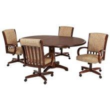 Table Base: Pedestal (walnut)