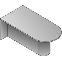 Kenwood Post Leg - Silver - Gm Items