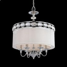 6-LIGHT PENDANT - Chrome