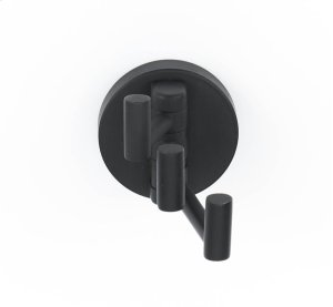 Contemporary I Robe Hook A8385 - Matte Black Product Image