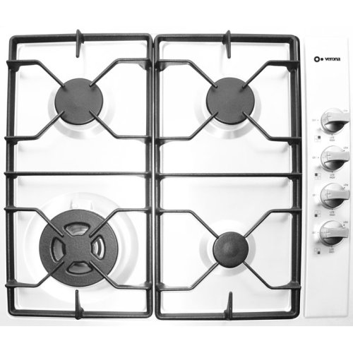 "White 24"" Gas Cooktop"