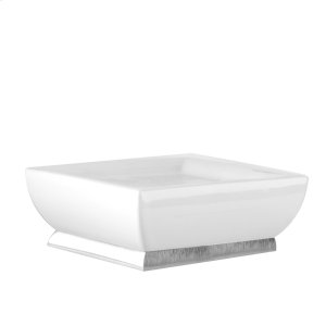 SPECIAL ORDER Freestanding soap dish in ceramic Product Image