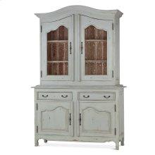 Baroque Armoire w/ 2 Glass Doors