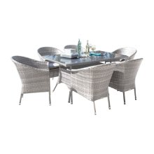 Santorini 7 PC Dining Set