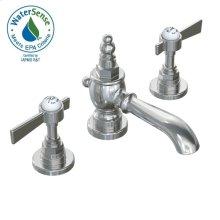 Savina Widespread Lavatory Faucet Lever Handles - Polished Chrome