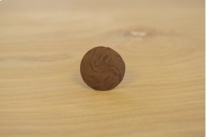 """1"""" Rusted 10 Pack Ribbed Round Clavos Product Image"""