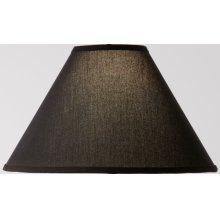 Black Linen Floor Lamp Shade 18 inch
