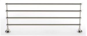 Royale Towel Rack A6626-24 - Unlacquered Brass Product Image