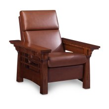 MaKayla Recliner, Leather Cushion Seat