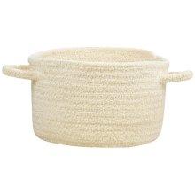 Cream Chenille Creations Basket