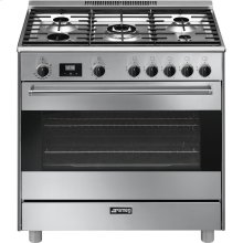 "Free-Standing Dual-Fuel Range, Approx. 36"", Stainless Steel"