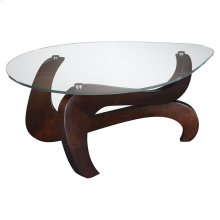 Nassau Shaped Cocktail Table