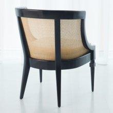 Cane Chair-Black