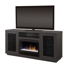 Swayze Media Console Electric Fireplace