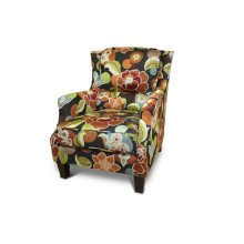 Zoe Floral Accent Chair, AC550A