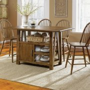 5 Piece Gathering Table Set Product Image
