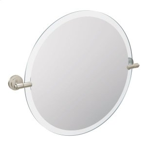 Iso brushed nickel mirror Product Image