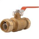 Brass Push Ball Valve Product Image