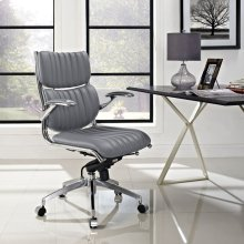 Escape Mid Back Office Chair in Gray