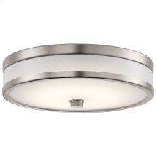 "Pira 12"" LED Flush Mount Champagne"