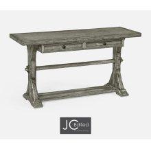 Antique Dark Grey Serving Table