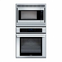 "27"" MASTERPIECE SERIES STAINLESS STEEL COMBINATION OVEN WITH MICROWAVE, TRUE CONVECTION OVEN AND WARMING DRAWER"