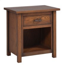 "Mountain Lodge 28"" Nightstand 1 Drawer"