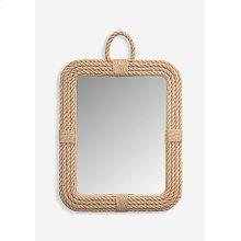 Aspen Rectangular Mirror - Natural (24x2x30)