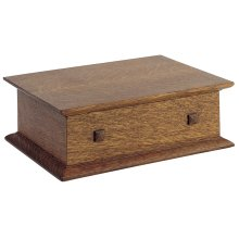 Oak Desk Box