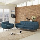 Engage Armchair and Sofa Set of 2 in Azure Product Image