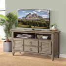 Myra - 54-inch TV Console - Natural Finish Product Image