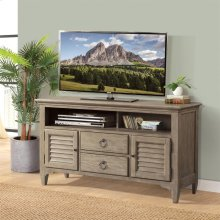 Myra - 54-inch TV Console - Natural Finish