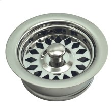 Polished Nickel PVD Disposal Assembly Fits In-Sink-Erator