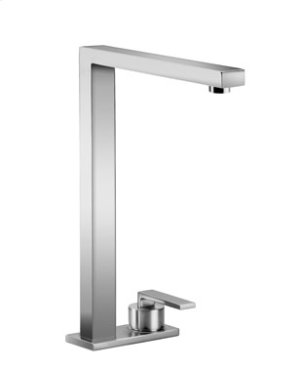 Two-hole mixer with cover plate - chrome Product Image