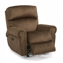 Langston Fabric Power Recliner with Power Headrest