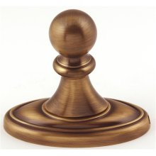 Classic Traditional Robe Hook A8080 - Antique English