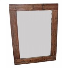 Reclaimed Pine Plank Mirror