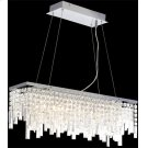 Chandeliers, Chrome/crystals, Type Jc/g4 20wx6 Product Image