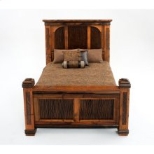 Glacier Bay - Deerbourne Panel Bed - Queen Bed (complete)