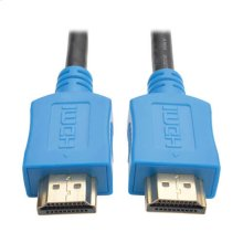 High-Speed HDMI Cable with Digital Video and Audio, Ultra HD 4K x 2K (M/M), Blue, 3 ft.
