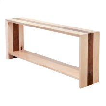Waterfall Straight Console Table