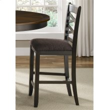 74-B300124  Double X Back Counter Chair (RTA)